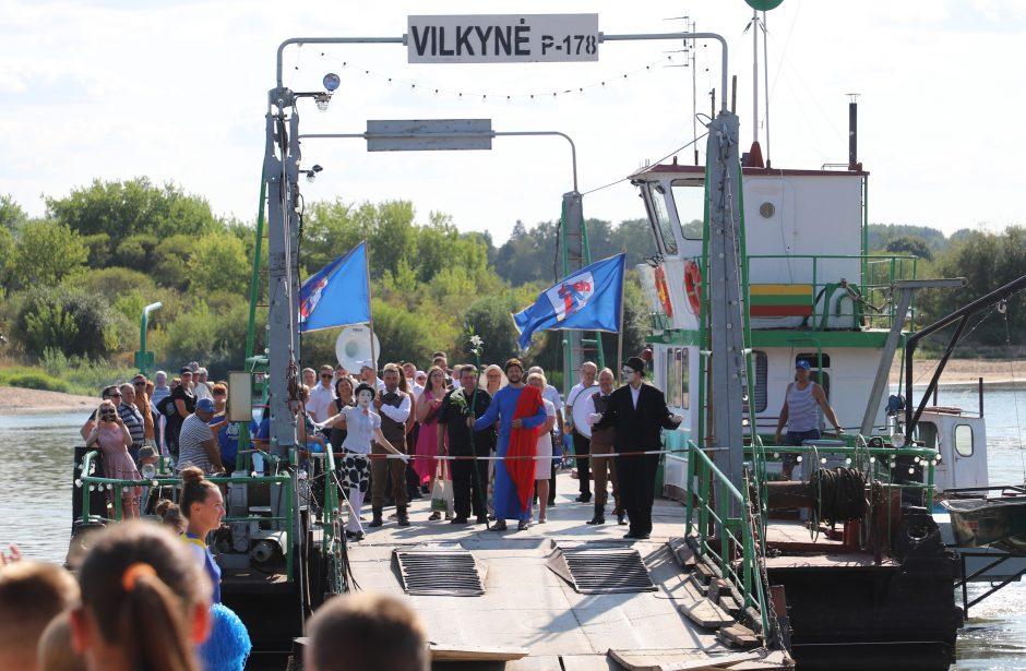 Vidurvasario šventė Vilkijoje patvirtino Nemuno krantų bičiulystę